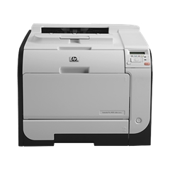 Máy in laser màu HP LaserJet Pro 400 color Printer M451nw (CE956A)